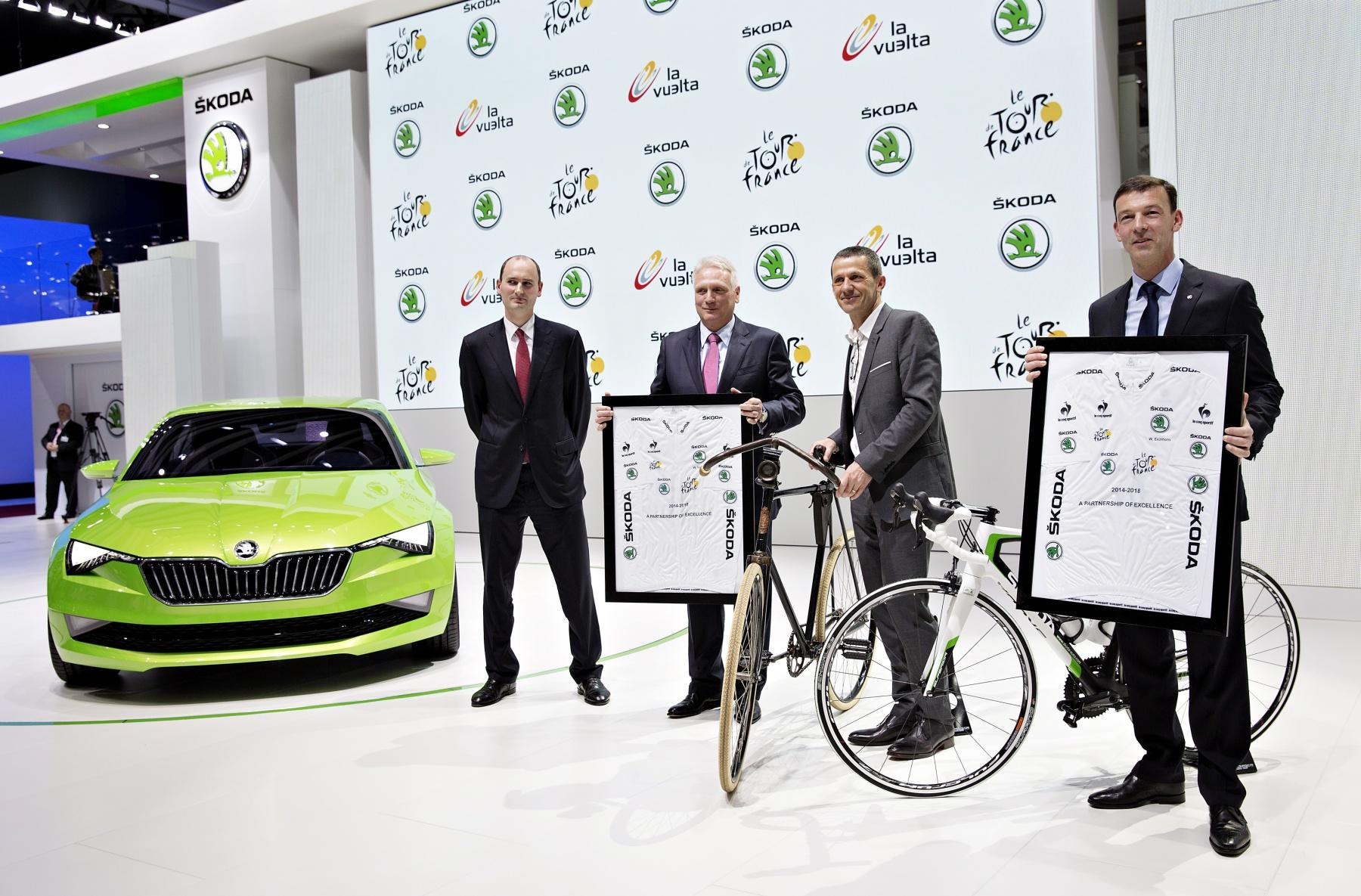 140304 SKODA - official partner Tour de France till 2018 002