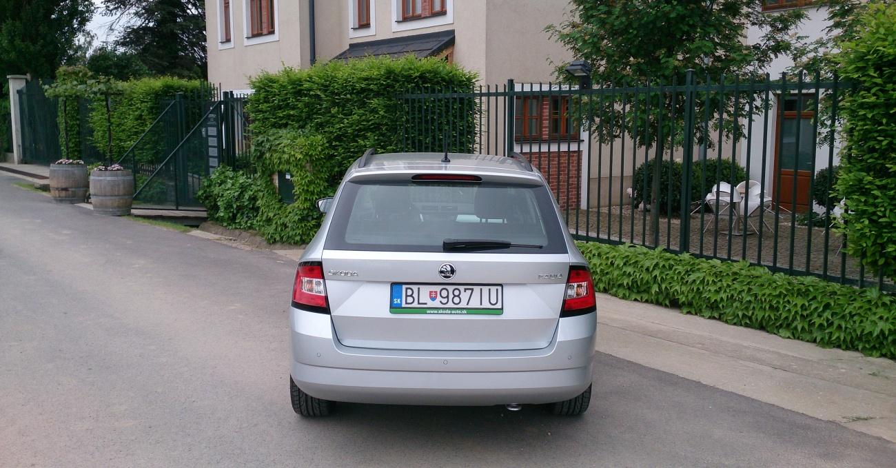 Škoda Fabia Combi 1,4 TDI 66 kW