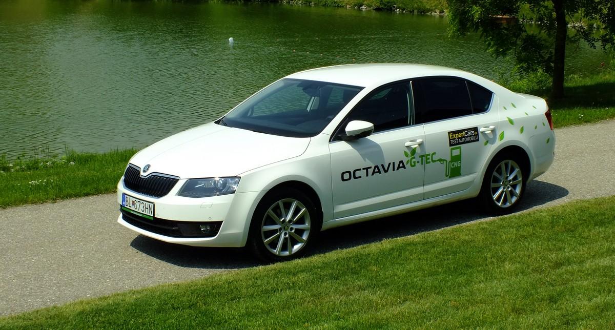 Škoda Octavia 1,4 TSI G-TEC CNG TOPka